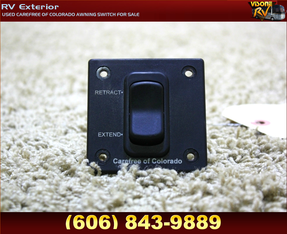 RV Accessories USED CAREFREE OF COLORADO AWNING SWITCH FOR ...