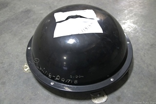 USED RV/MOTORHOME KING DOME BLACK SATELLITE DOME MODEL: KD-3200-40 WITH CONTROLLER