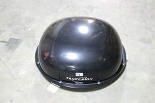 USED RV/MOTORHOME KVH TRACVISION R5SL BLACK SATELLITE DOME (NO CONTROLLER)