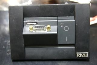 USED BLACK KVH R5SL SATELLITE DOME WITH REMOTE