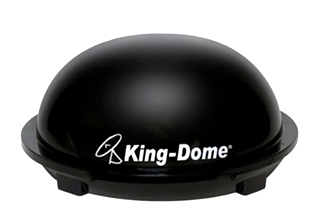 NEW KING CONTROLS KD-3000B KING DOME IN-MOTION SATELLITE SYSTEM
