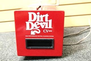 USED DIRT DEVIL CV950 RV VACUUM SN: E5020237