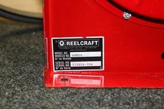 USED RV/MOTORHOME REELCRAFT HOSE REEL PN: 4NB26 SN: 070824-004