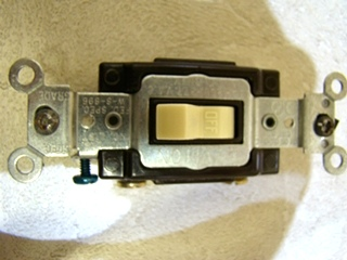 NEW RV/MOTORHOME LEVITON TOGGLE LIGHT SWITCH PRICE $10.99