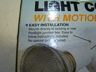 NEW RV/MOTORHOME OR HOME CONVENIENT LIGTH CONTROL