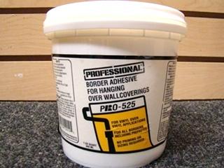 PROFESSIONAL BORDER ADHESIVE PRO-5251 U.S. QUART (946ML.)
