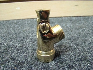 NEW RV/MOTORHOME SWIVEL CONNECTOR POLISHED BRASS MODEL# 28657PB