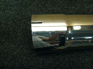 NEW RV/MOTORHOME CHROME EXHAUST TIP WITH 18