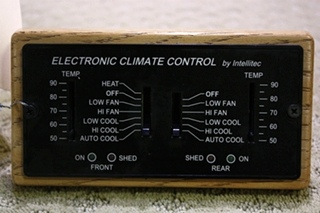 USED INTELLITEC ELECTRONIC CLIMATE CONTROL THERMASTAT FOR SALE