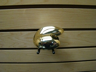 NEW RV/MOTORHOME MOEN POLISHED BRASS  ADJUSTABLE WALL BRACKET PIRCE: $25.99 + $5.99 SHIPPING