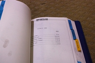 USED NEOPLAN USA CORPORATION 1992 PARTS CATALOG FOR SALE