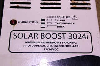 USED SOLAR BOOST 3024i FOR SALE