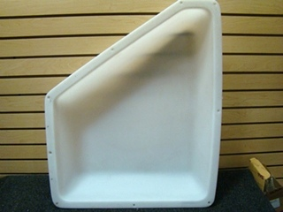 USED RV/MOTORHOME WHITE BATHROOM CEILING VENT COVER