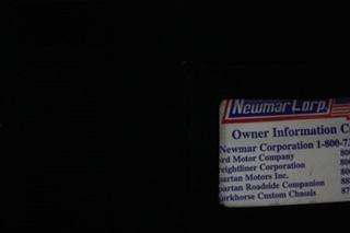 USED 2006 NEWMAR VENTANA OWNERS MANUAL FOR SALE