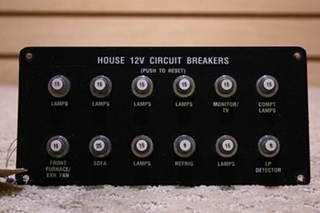 USED 12V CIRCUIT BREAKER FOR SALE