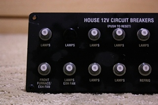 USED RV/MOTORHOME HOUSE 12V CIRCUIT BREAKER FOR SALE
