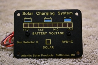 SOLAR CHARGING SYSTEM RVS-1C FOR SALE