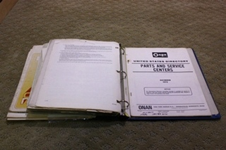 USED 1978 JIMMY MINI OWNERS MANUAL BINDER FOR SALE