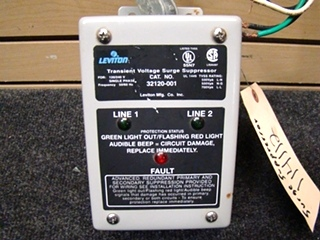 USED RV/MOTORHOME 50 AMP LEVITON SURGE SUPPRESSOR FOR SALE