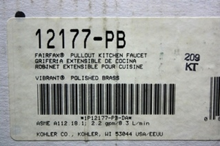 KOHLER FAIRFAX PULLOUT KITCHEN FAUCET FOR SALE
