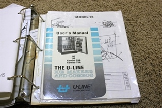 USED 1993 MONACO CROWN ROYALE OWNERS MANUAL FOR SALE