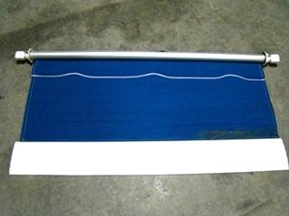 USED BLUE TOPAZ CAREFREE WINDOW AWNING 62