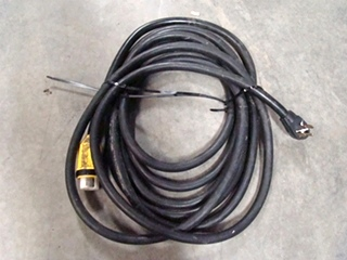 USED RV/MOTORHOME 50 AMP POWER CORD WITH MALE AND TWIST LOCK END