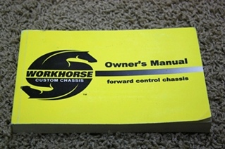 USED WORKHORSE CHASSIS OWNERS MANUAL FOR SALE