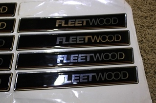 NEW FLEETWOOD RAISED DECAL-LOGO FOR SALE