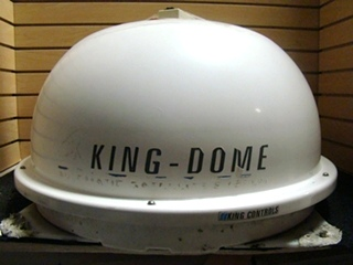 USED RV/MOTORHOME KING DOME AUTOMATIC SATELLITE DOME D9702 (WHITE)