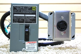 USED QO LOAD CENTER WITH PLUG IN QO2L30S FOR SALE