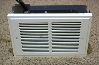 USED BROAN WALL HEATER MODEL 120-B/120F-B RV/MOTORHOME PARTS FOR SALE