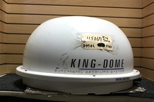 USED KING-DOME AUTOMATIC SATELLITE D9702 MOTORHOME SATELLITE DOME FOR SALE