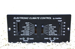 USED RV PARTS ELECTRONIC CLIMATE CONTROL 00-00597-100 FOR SALE