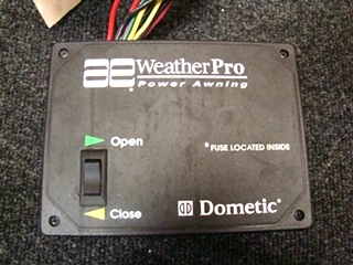 USED RV/MOTORHOME WEATHER PRO POWER AWNING PART NO.3307916.001 S/N:E5270537