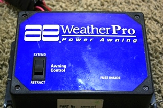 RV Accessories USED RV AWNING PARTS AE WEATHERPRO POWER ...