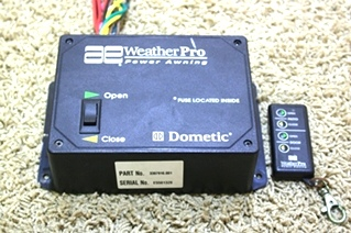 USED RV PARTS AE WEATHERPRO POWER AWNING BOX WITH REMOTE FOR SALE