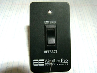 USED RV/MOTORHOME WEATHER PRO AWNING SWITCH FOR SALE