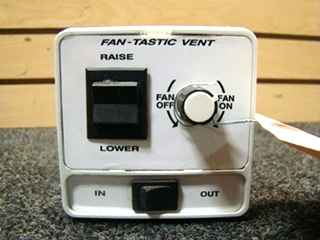 USED RV FANTASTIC FAN VENT SWITCH FOR SALE