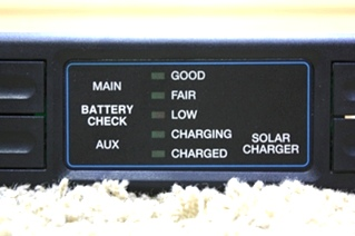 USED RV INTELLITEC BATTERY CHECK PANEL 00-00576-100 MOTORHOME PARTS FOR SALE
