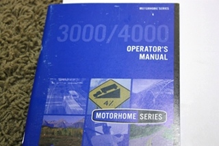 USED 2006 MONACO KNIGHT OWNERS MANUAL FOR SALE