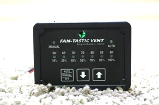USED FAN-TASTIC VENT FAN SWITCH RV PARTS FOR SALE