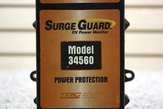 USED SURGE GUARD POWER PROTECTION MODEL: 34560 RV PARTS FOR SALE