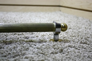 USED RV INTERIOR BRASS WITH SILVER ACCENT GRAB HANDLE FOR SALE