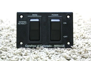 USED RV CAREFREE OF COLORADO - MIRAGE AWNING SWITCHES FOR SALE