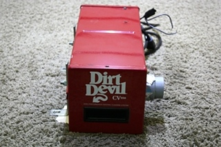 USED MOTORHOME DIRT DEVIL CV950 HIGH PERFORMANCE CENTRAL CLEANING SYSTEM FOR SALE