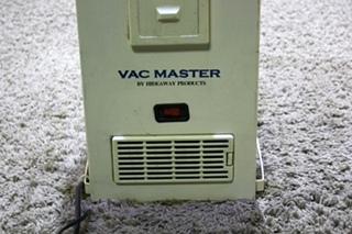USED MOTORHOME VAC MASTER BY HIDEAWAY VACUUM SYSTEM (NO HOSE) FOR SALE