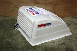 MAXXAIR WHITE DOME ROOF VENT COVER MOTORHOME PARTS FOR SALE