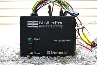USED 3307916.001 DOMETIC AE WEATHERPRO POWER AWNING CONTROL BOX RV PARTS FOR SALE