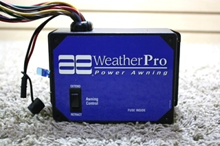 USED AE WEATHERPRO POWER AWNING CONTROL 3307843.007 MOTORHOME PARTS FOR SALE